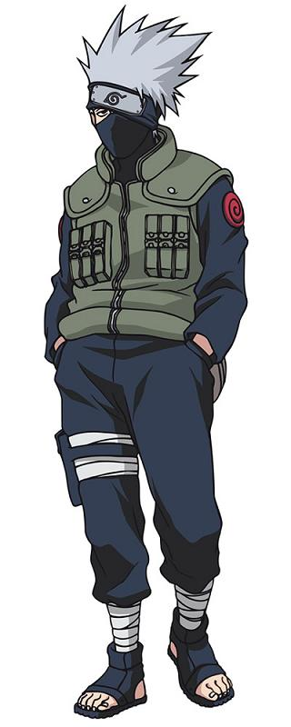 Anime Manga: Kakashi Hatake