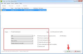 Review Aplikasi PeaZip - Utilitas Arsip Gratis Yang Bisa Digunakan Secara Portable
