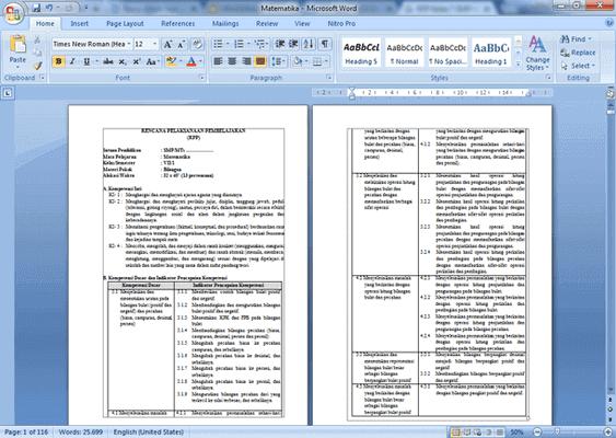 RPP Kelas 7 SMP-MTs Kurikulum 2013 Revisi 2018 Lengkap