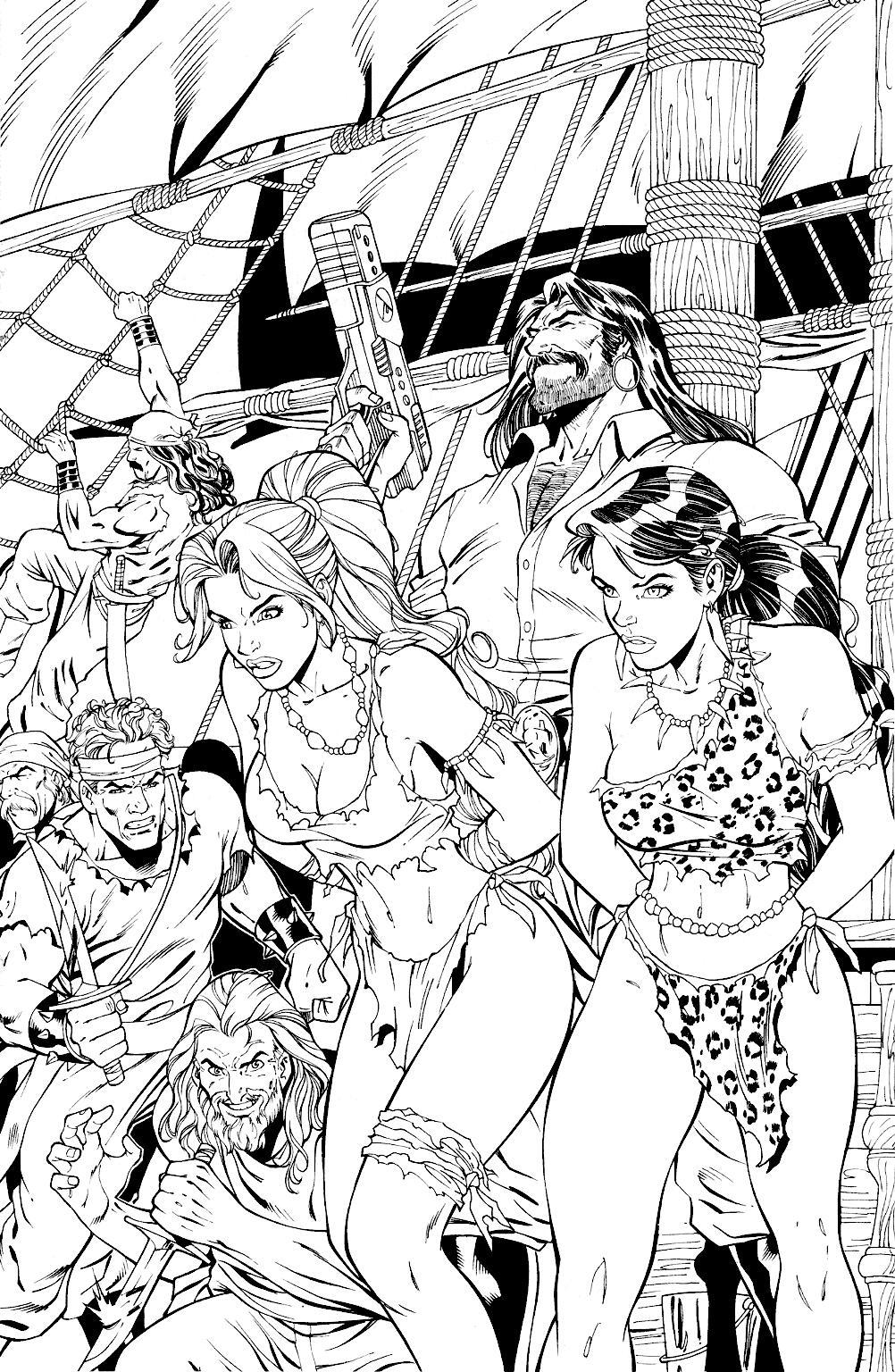 Read online Jungle Fantasy (2002) comic -  Issue #1 - 21