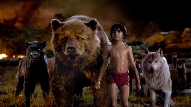 Imagen de la película El libro de la selva