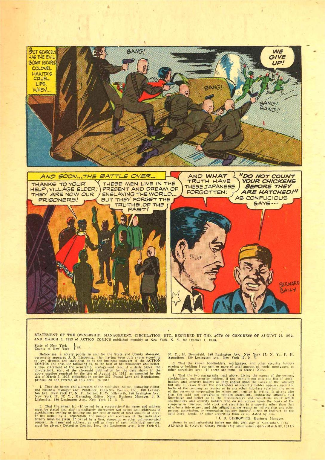 Read online Action Comics (1938) comic -  Issue #70 - 46