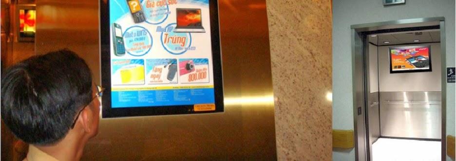 Quảng cáo,Quảng cáo Chicilonmedia,quảng cáo trong thang máy