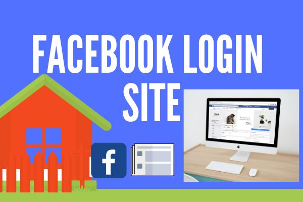 Facebook Login Site