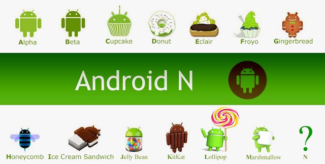 جوجل تطلق نسخة جديدة للأندرويد Android N
