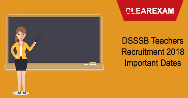 DSSSB Teachers Recruitment