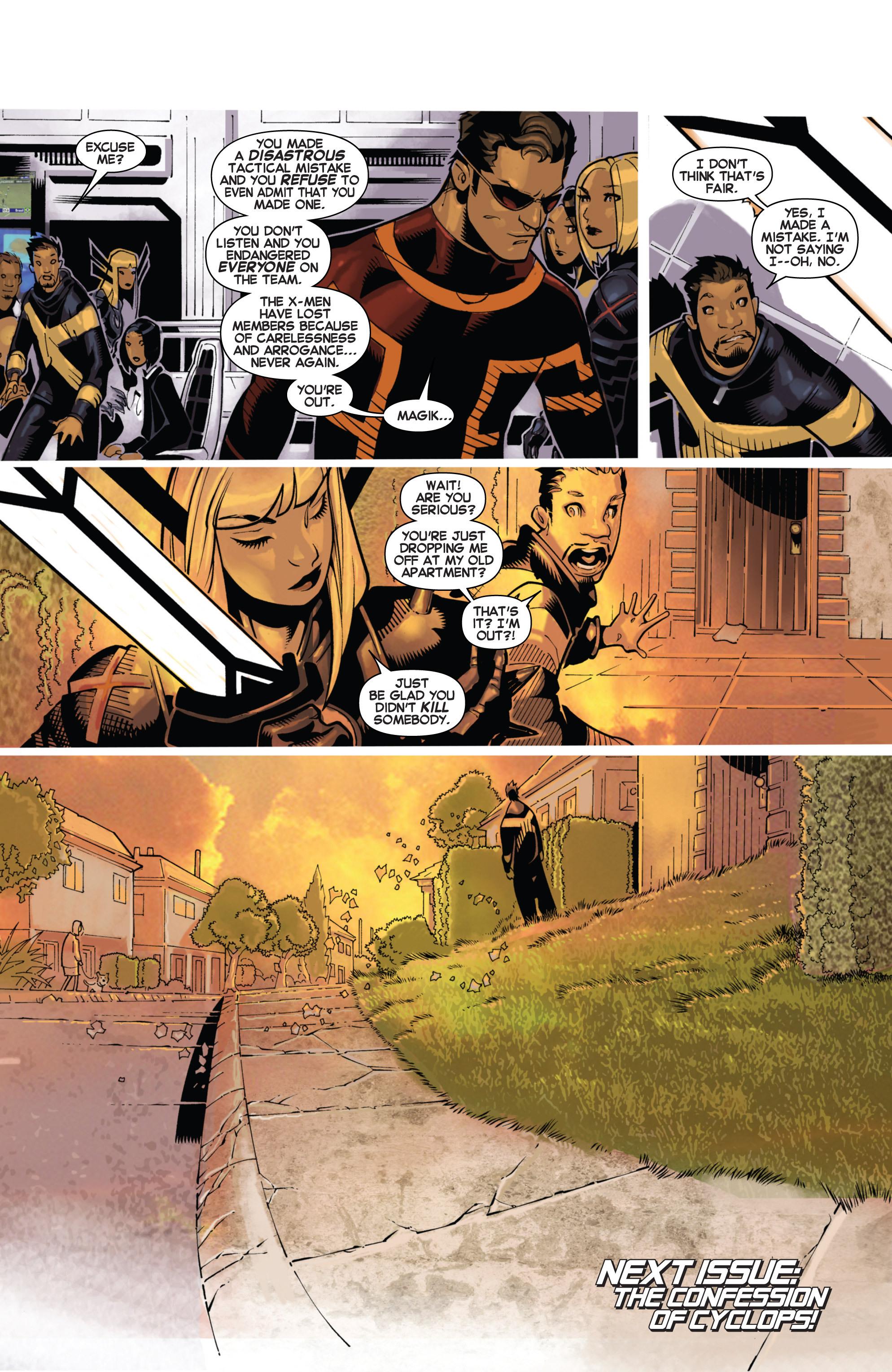 Read online Uncanny X-Men (2013) comic -  Issue #17 - 19
