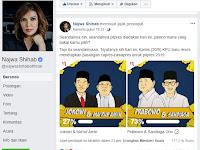 TELAK! Poling Najwa Shihab: Prabowo-Sandi Menang Telak 73%