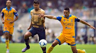 Tigres U.A.N.L vs  Pumas UNAM