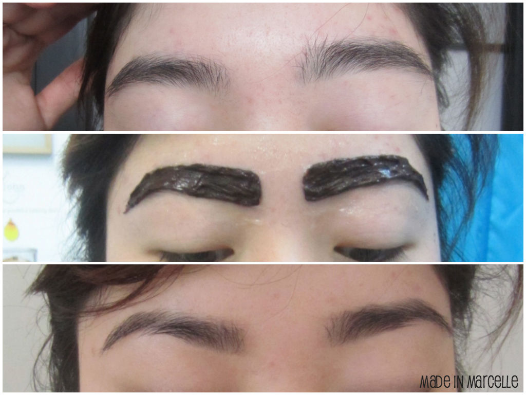 LIFE by C: I have an arch! My eyebrow tinting & shaping ...
