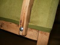 jak naprawić podłokietnik starego fotela