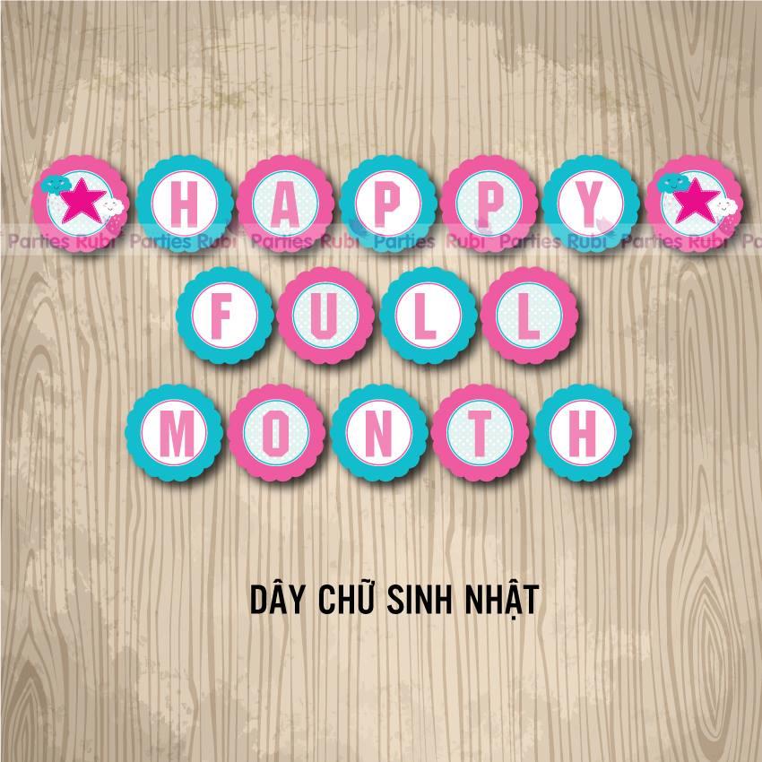 Day chu sinh nhat theo chu de Dam May