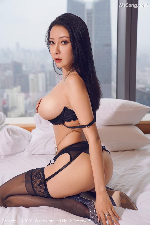 XIUREN No.2142: Victoria (果儿) (59P)