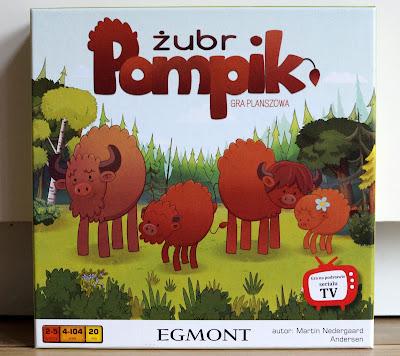 Żubr Pomponik gra planszowa