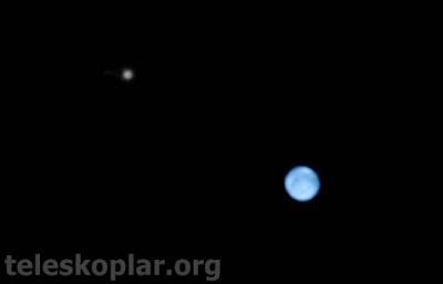 teleskop ile neptün gözlemi