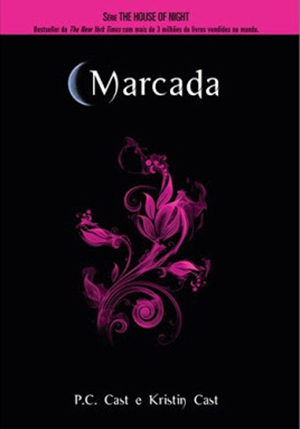 capa do primeiro livro da série house of night marcada da pc cast e kristin cast
