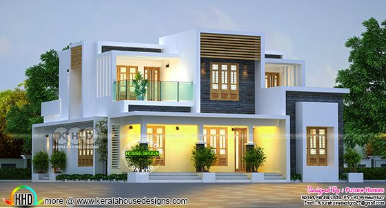 204 sq-M contemporary home