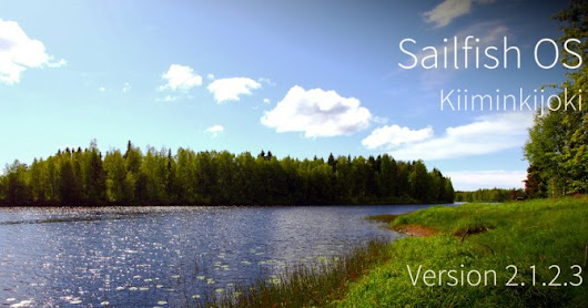 Software release: Sailfish OS 2.1.2.3 Kiiminkijoki