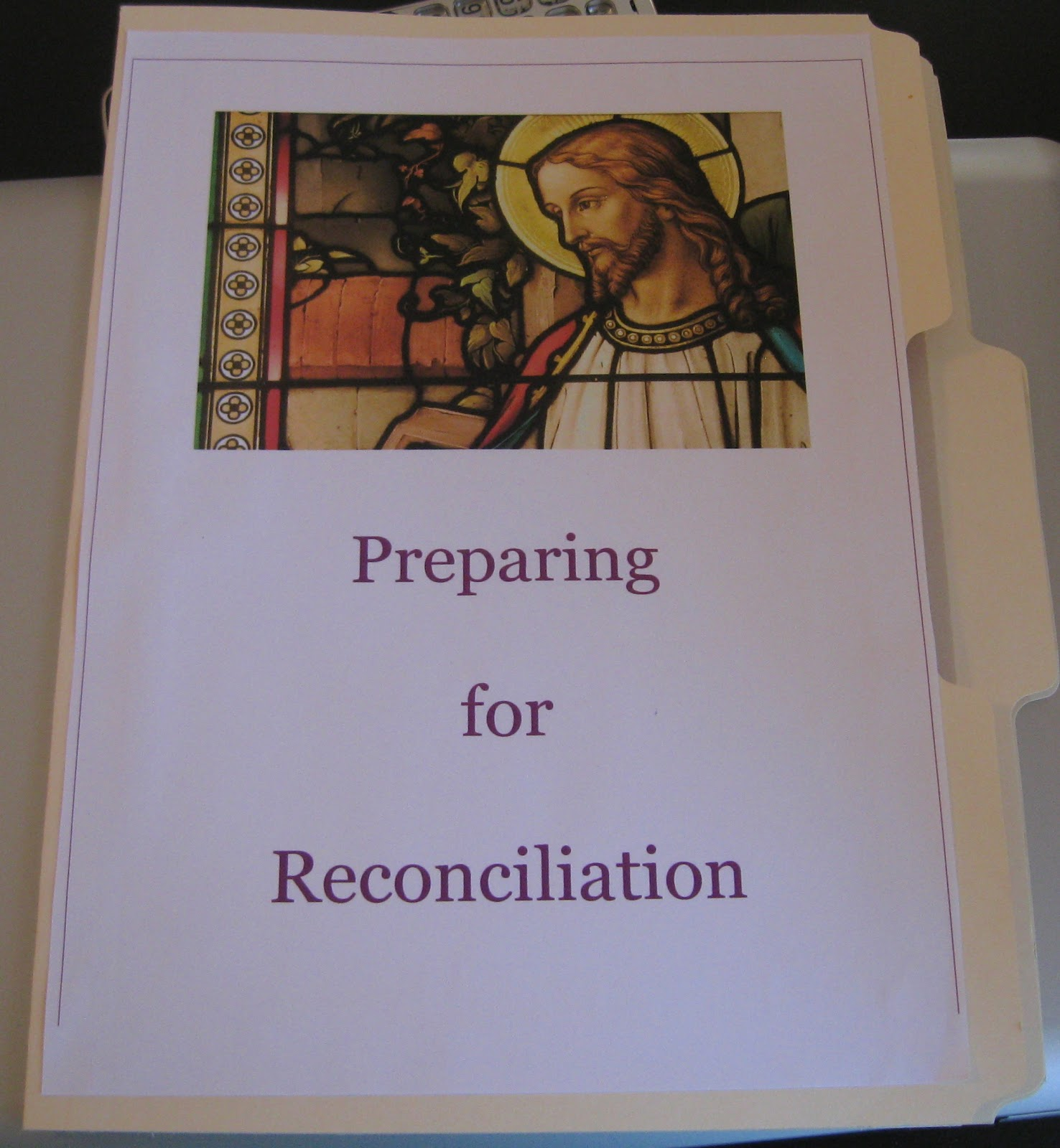 Busy With Blessings A First Reconciliation Lapbook