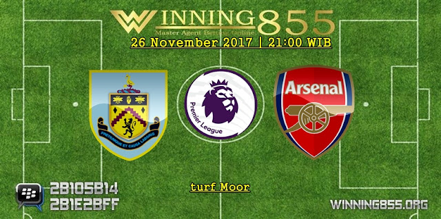 Prediksi Akurat Burnley vs Arsenal 26 November 2017