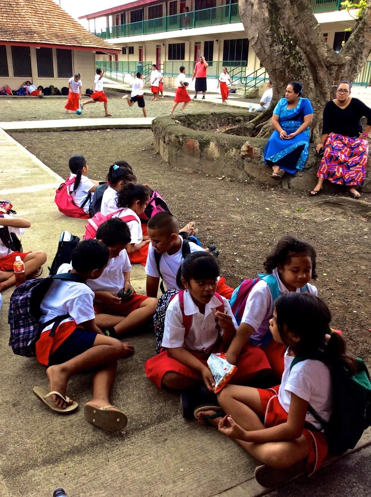 Maggie in American Samoa September 2015