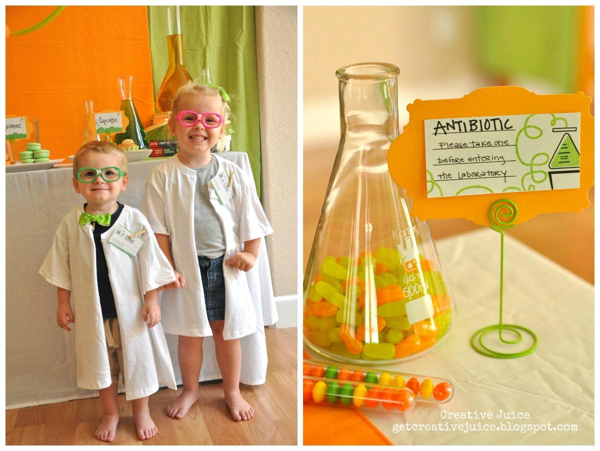 Mad Scientist Party Craft O Maniac