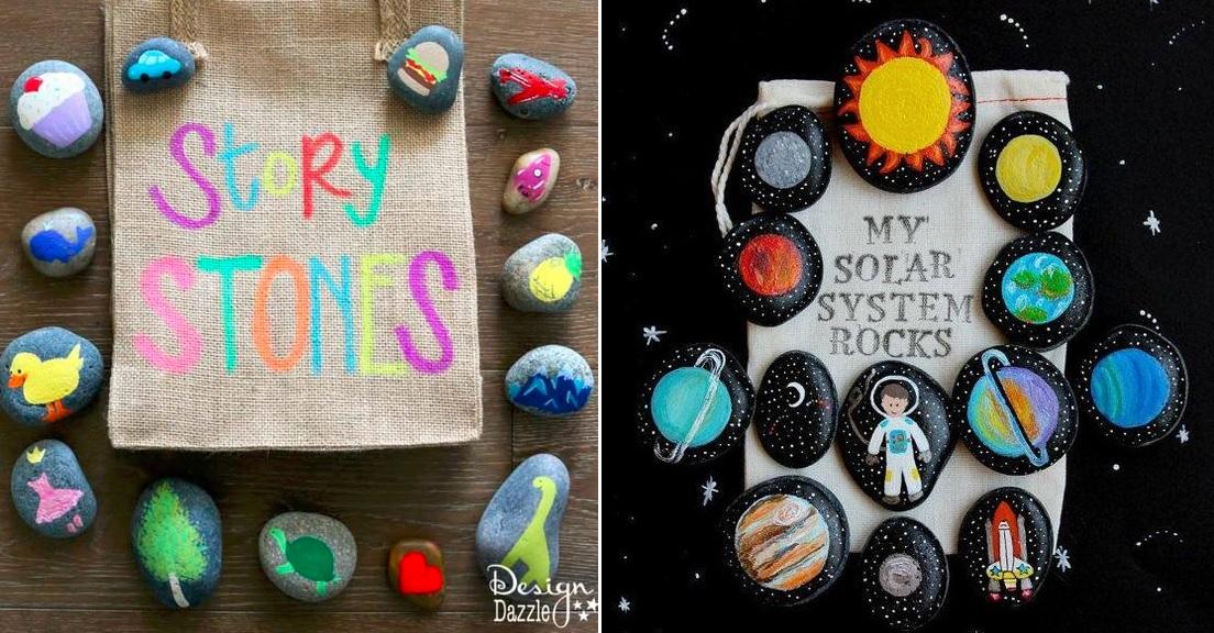 Hikaye Taşları Okul öncesi Yaratıcı Fikirler Bloğu