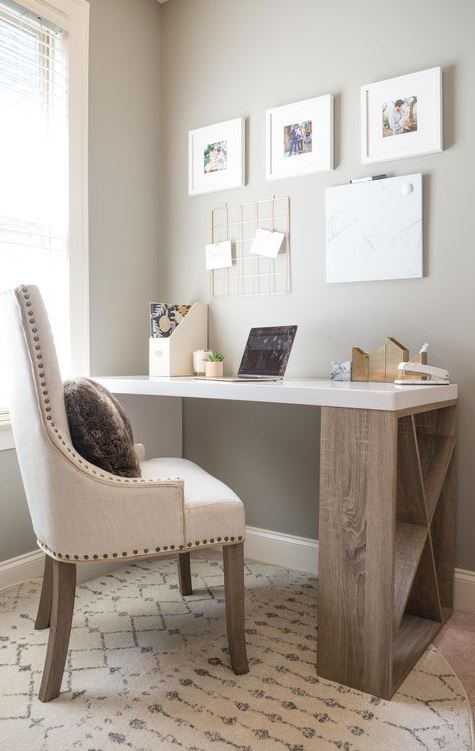 SMALL SPACE OFFICE & TIPS ON MAKING ONE IN YOUR HOME