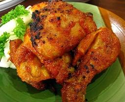 Cara memasak ayam panggang bumbu rujak, resep ayam panggang bumbu rujak