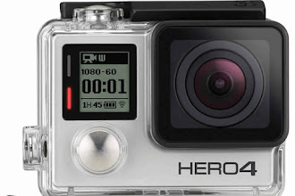 powerful GoPro HERO 4 Silver