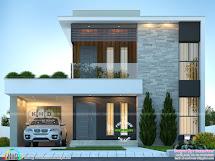 1893 Sq-ft 4 Bhk Contemporary House - Kerala Home Design