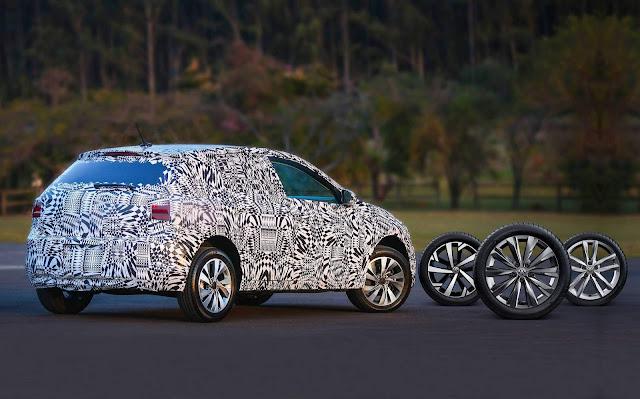 VW Polo 2019 nacional - rodas
