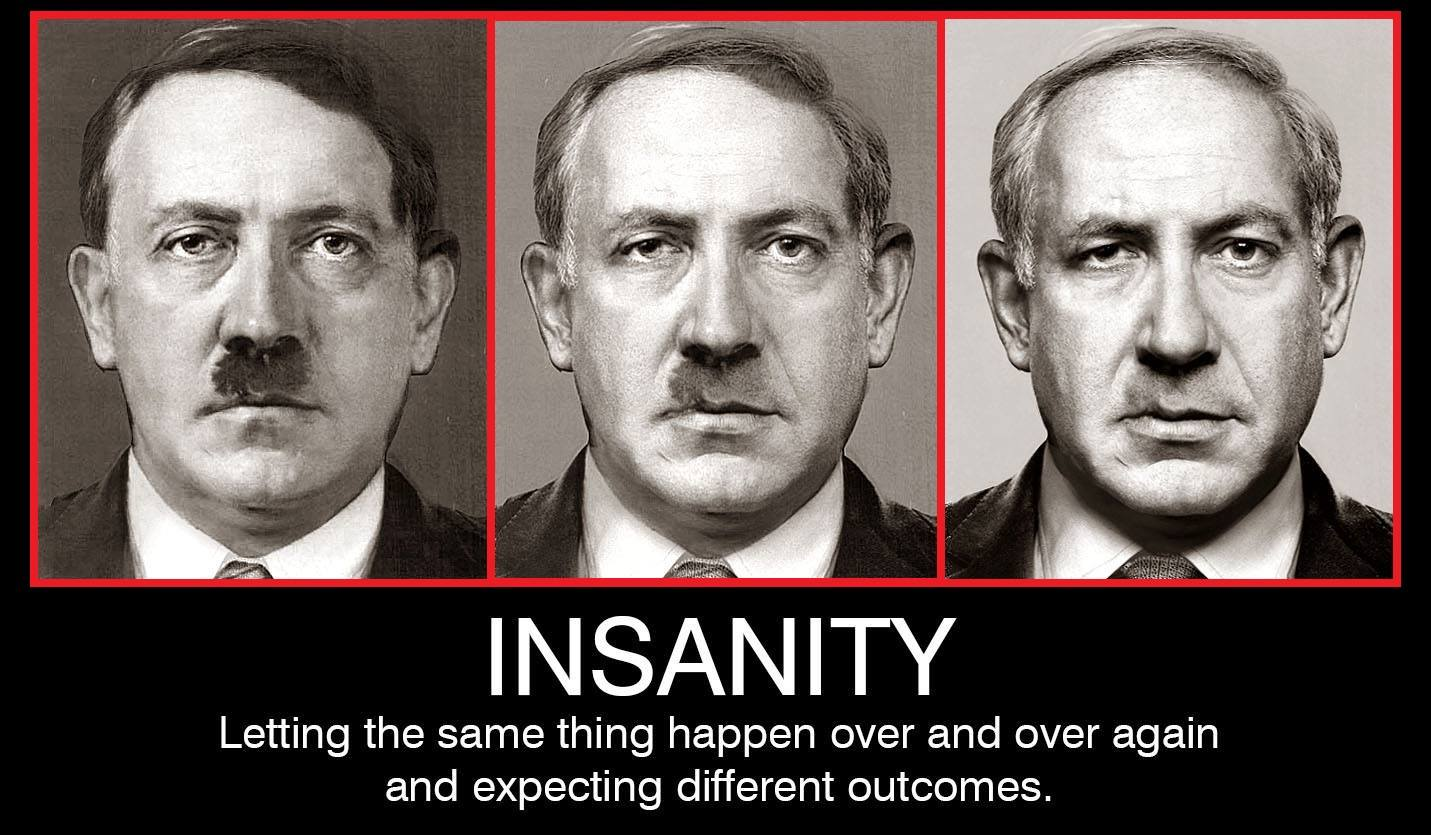 "Netanyahu – Iran is a ""Muslim Nazi State"". Shiite Muslims are the ""Chosen People"" that advocate ""Master Faith & Master Race""."