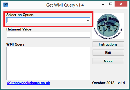 Get WMI Query v1.4 Released 4