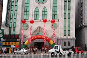 Harbin: igreja onde aconteceu a sagração sacrílega e ilegal.