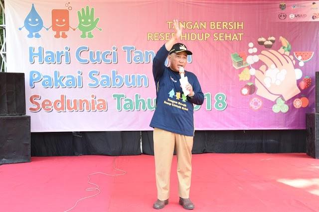 Walikota Minta OPD Gencar Sosialisasikan Gerakan Cuci Tangan Pakai Sabun