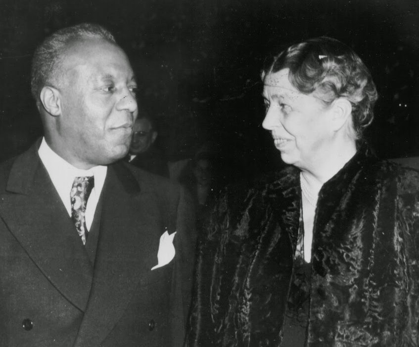 Eleanor Roosevelt and A. Philip Randolph