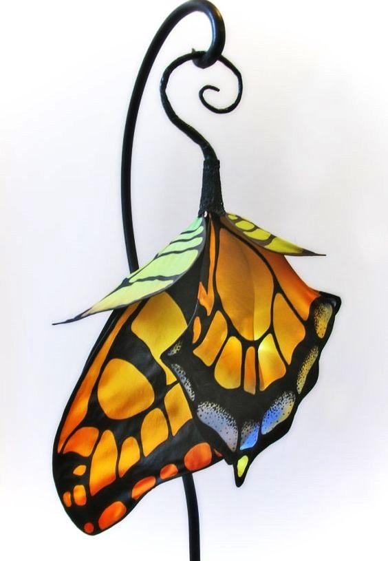 lampy wrozek z jedwabiu