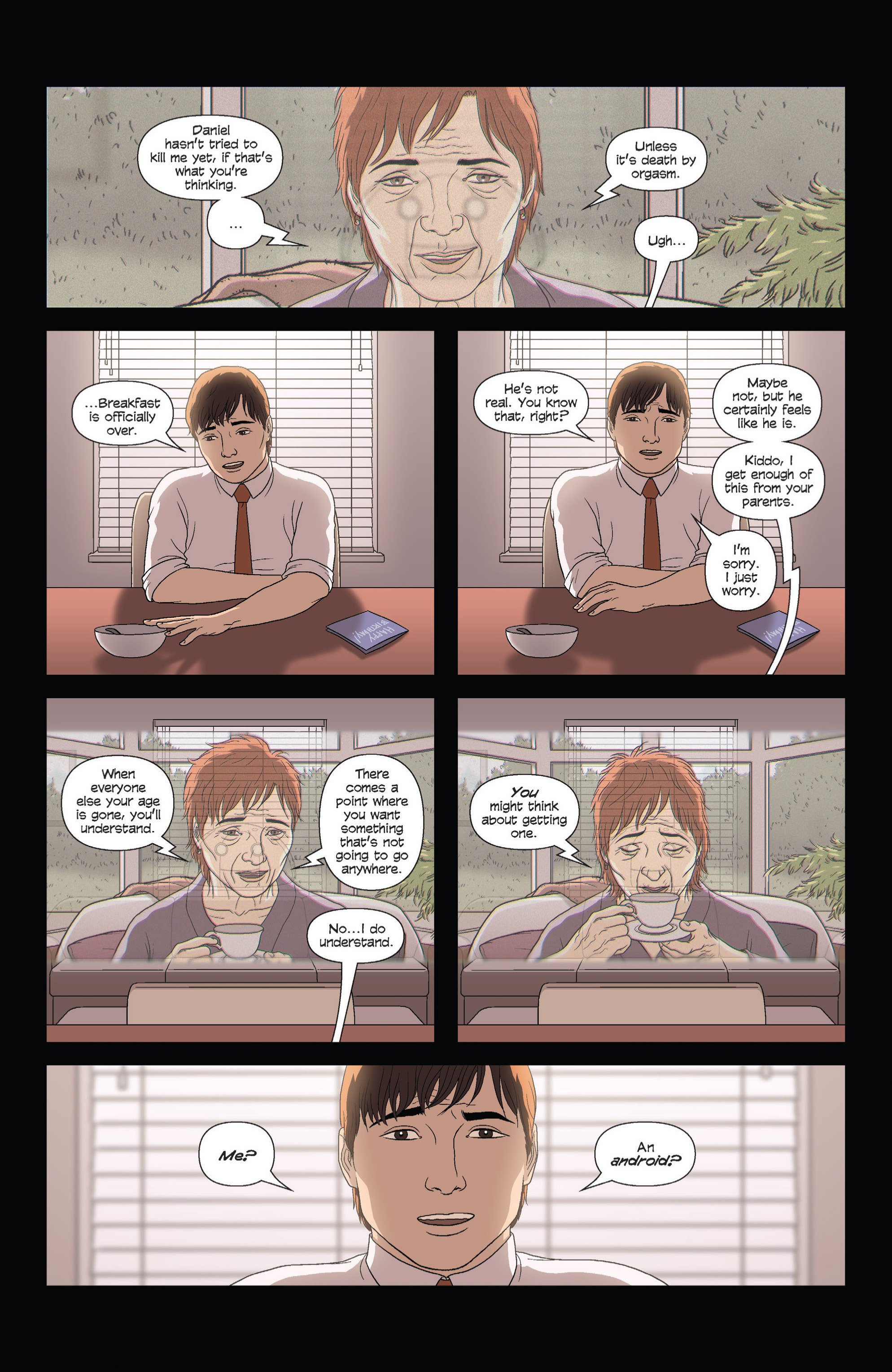 Read online Alex   Ada comic -  Issue #1 - 14