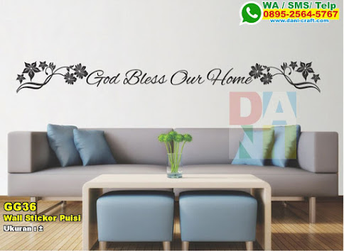 Wall Sticker Puisi