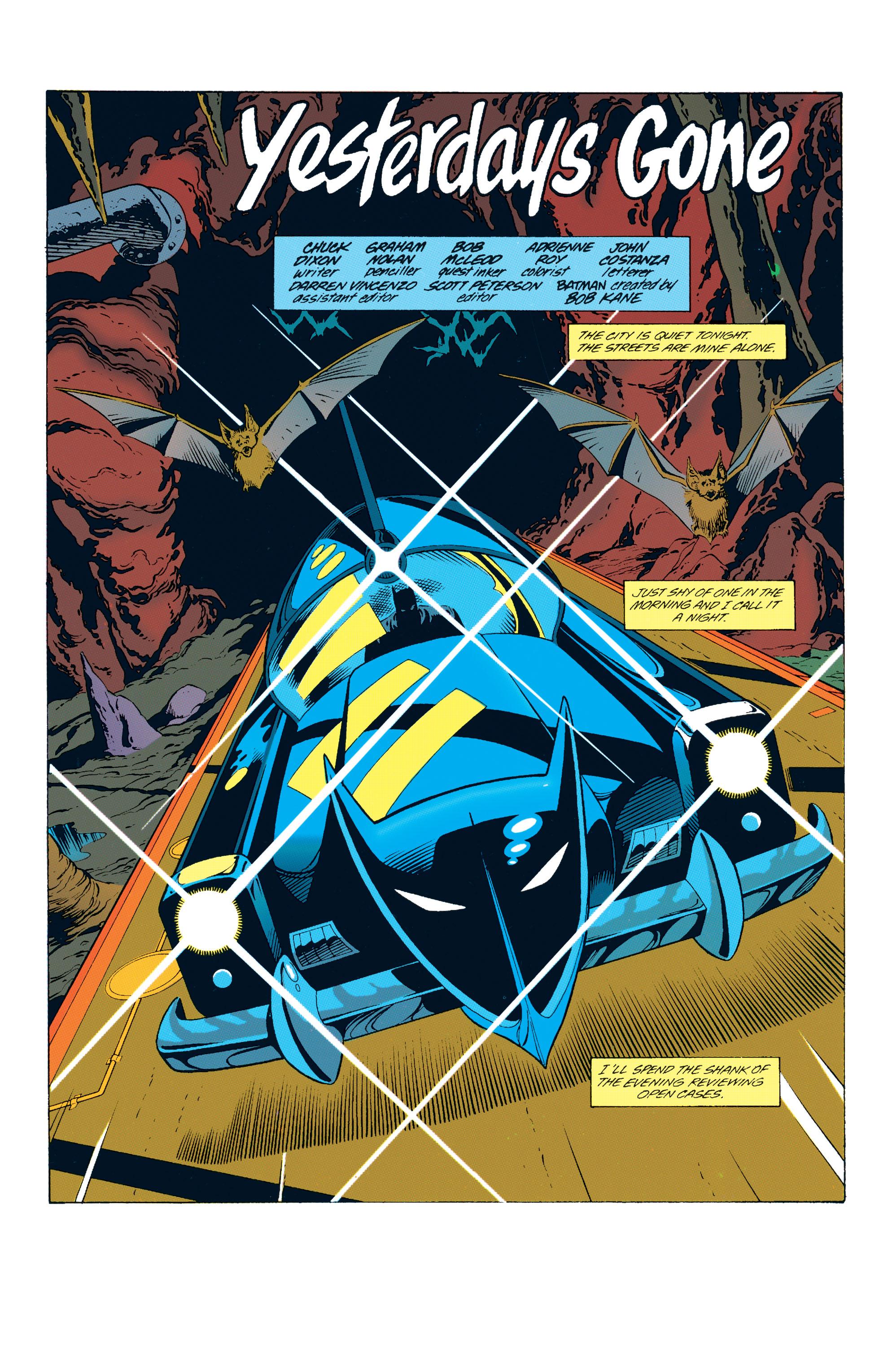 Detective Comics (1937) 678 Page 1