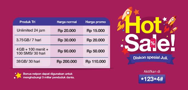 Tri Hot Sale Juli