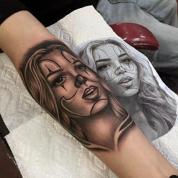 Tatuagens femininas para os braços