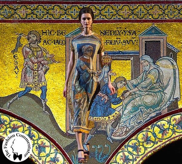Dolce e Gabbana - Fall Winter 2013 - Isacco benedice Giacobbe (Duomo di Monreale)