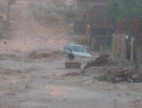Forte chuva provoca transtornos e deixa desabrigados em Pocinhos, no Agreste da PB