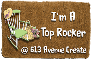 613 Avenue Create, Top Rocker July 2018 (painting)