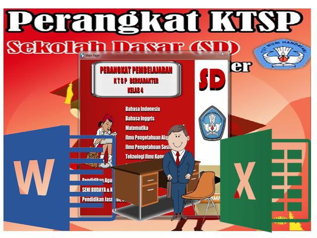 Perangkat KTSP SD Kelas 4 Mapel PKn Format Words