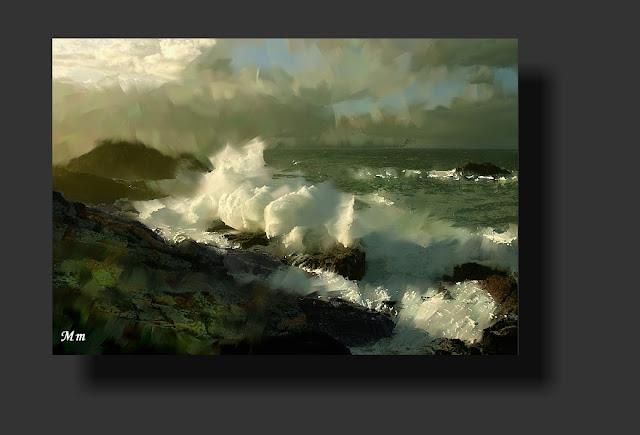 fotografía impresionista, arte digital, Fotopinturas de paisajes
