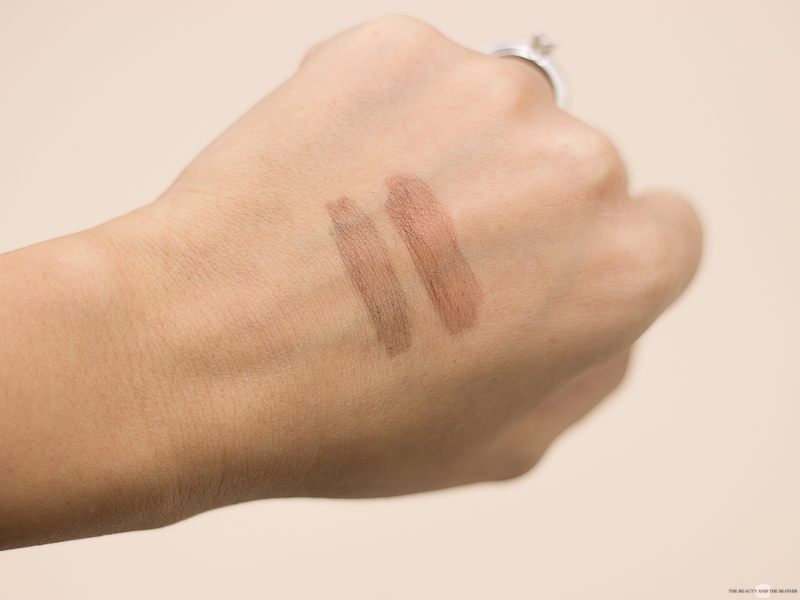 L.O.V Code: Nude Collection Staining Eyebrow Cushion Swatches Review Drogerie