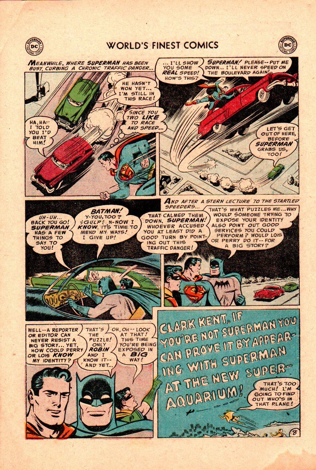 Read online World's Finest Comics comic -  Issue #78 - 10